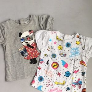 2 Little Marc Jacobs Shirts 12 M
